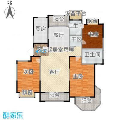 澜调国际131.00㎡C03户型3室2厅