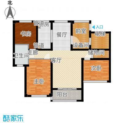 望湖公寓112.00㎡D1户型3室2厅