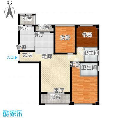 望湖公寓120.00㎡A2户型3室2厅