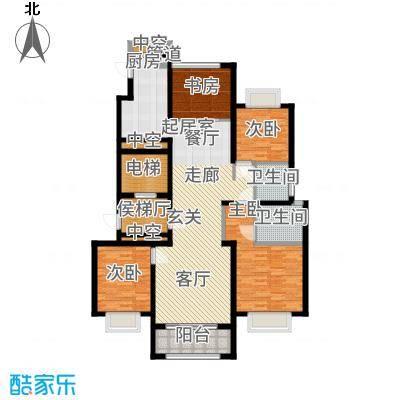 龙湖时代天街143.00㎡平米D4-2户型4室2厅