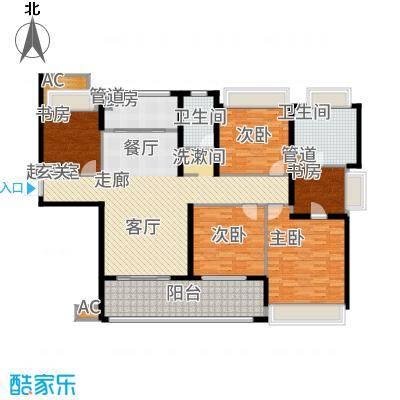 雅戈尔太阳城缘邑163.00㎡户型4室2厅