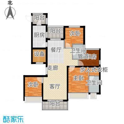 中房颐园143.00㎡户型3室2厅