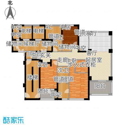 蠡湖香樟园200.03㎡户型4室2厅