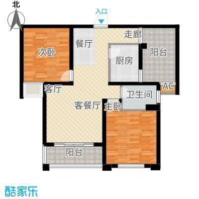 润泽东都二期宽域91.00㎡B、C户型2室2厅