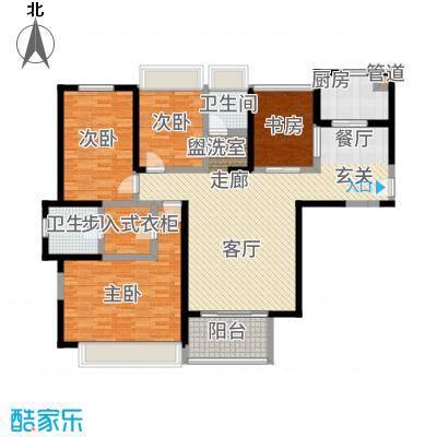 首创悦府134.00㎡云鼎高层D1户型3室2厅