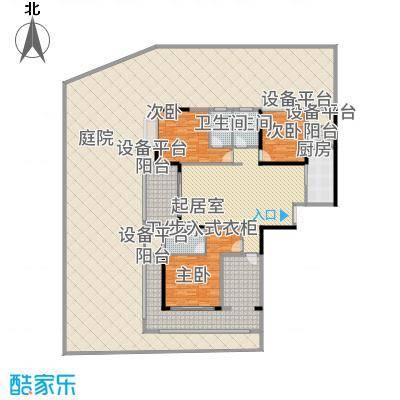 中建江山壹号183.00㎡1/2号栋A1户型4室2厅