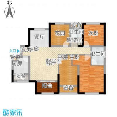 旭辉香樟公馆119.01㎡8号栋A户型4室2厅