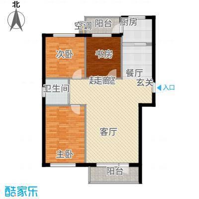 金海明珠10332-10353户型3室2厅