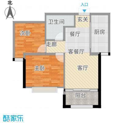 朗悦四季117.50㎡户型3室2厅