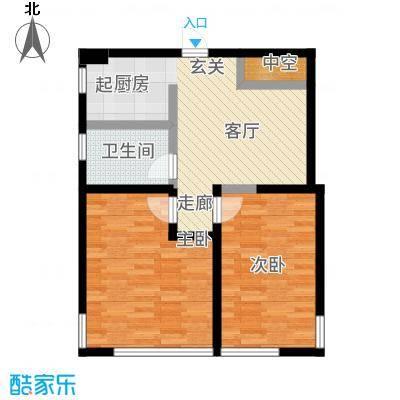 海天一品C座_K1户型2室1厅