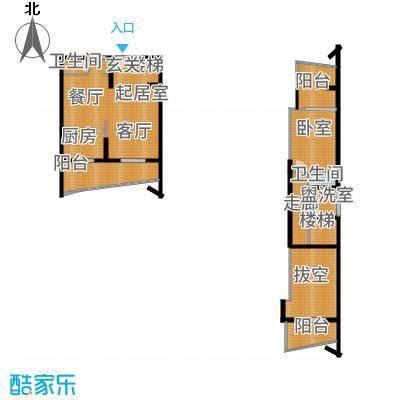 广信百度城Ⅱ大家LOFTA-8户型