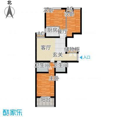 燕西台102.48㎡C4-01户型3室2厅
