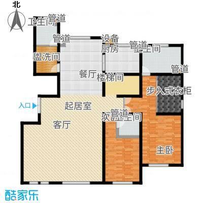 天海誉天下343.03㎡跃层C2一层户型4室2厅