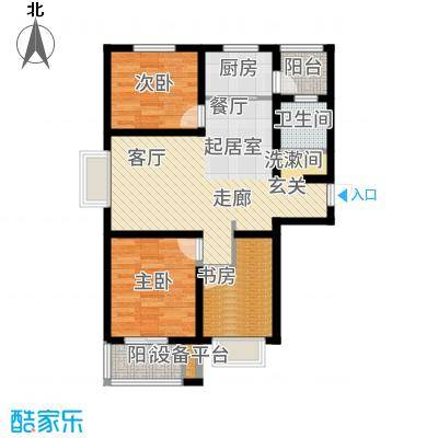 光华里103.00㎡5号楼C户型3室2厅