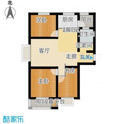 光华里103.00㎡5、6号楼C户型3室2厅