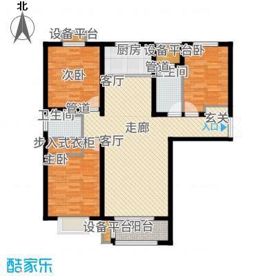 众美凤凰绿都127.00㎡3号地2#楼D户型3室2厅
