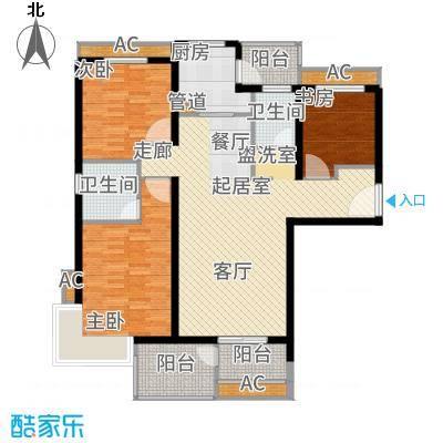 安联生态城109.00㎡A2-3户型3室2厅