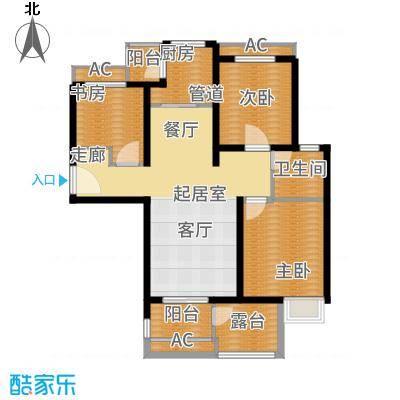 安联生态城103.00㎡A2-2户型3室2厅