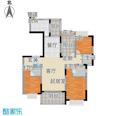 天骄御峰163.00㎡1-3栋1单元023+户型4室2厅