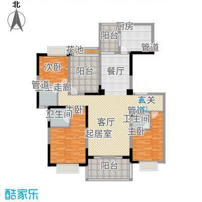 天骄御峰183.00㎡1-3栋2单元013+户型4室2厅