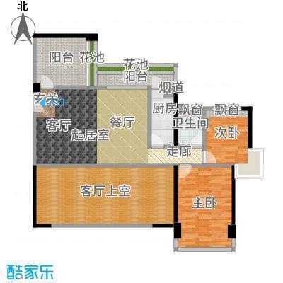 五福里95.00㎡4-5栋19/21层01户型4室2厅