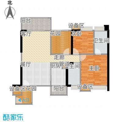 尚峰温莎堡97.89㎡02户型3室2厅