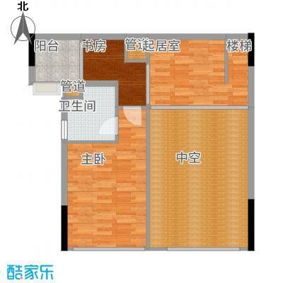 尚峰温莎堡公寓02-2F户型1室2厅