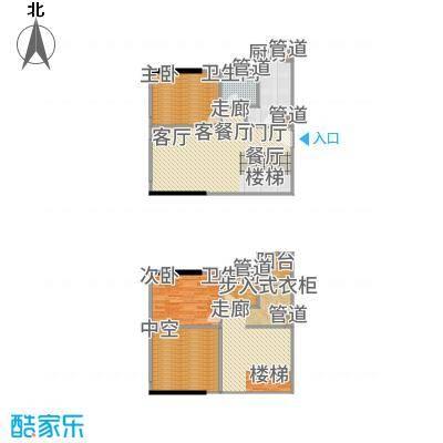 尚峰温莎堡62.00㎡2号楼复式11-14户型3室2厅