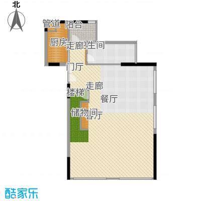 尚峰温莎堡公寓03-1F户型1室2厅