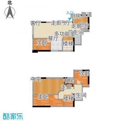 尚峰温莎堡81.00㎡2号楼复式10/15户型4室2厅
