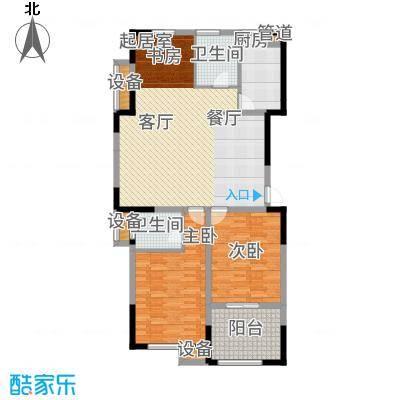 云厦·阳光福邸115.00㎡M户型3室2厅