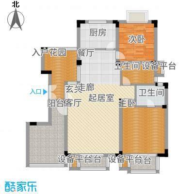 南光·洛龙湾壹号117.00㎡2+户型2室2厅