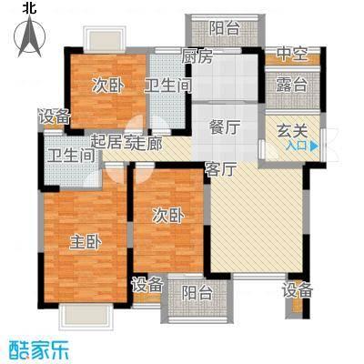 南光·洛龙湾壹号115.00㎡户型3室2厅