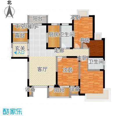 南光·洛龙湾壹号141.00㎡2位户型4室2厅