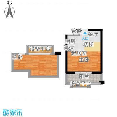 西城荟45.00㎡户型