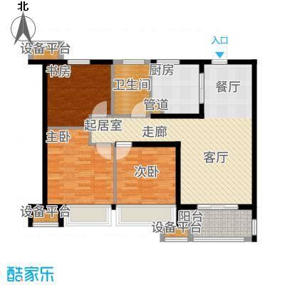 中海·凤凰熙岸89.00㎡A户型3室2厅