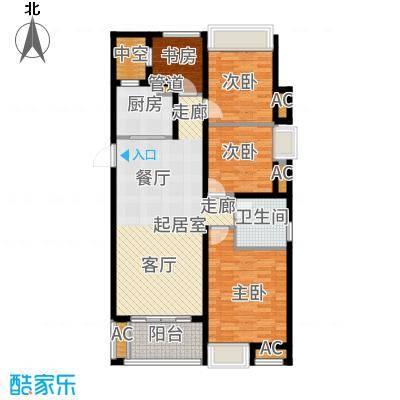 时代广场二期110.00㎡A户型4室2厅