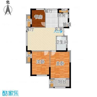 荣安凤凰城111.00㎡D户型3室2厅