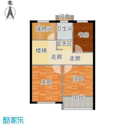 嘉悦景苑178.00㎡套房两侧复式二层平面户型4室2厅