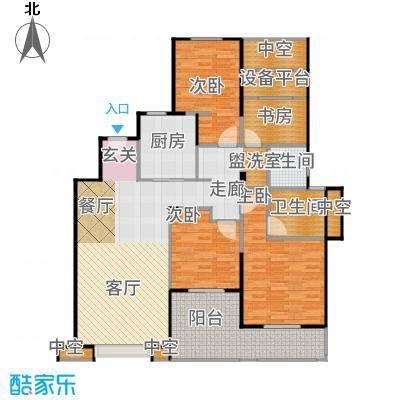 景瑞上府137.00㎡04_洋房2层户型4室2厅