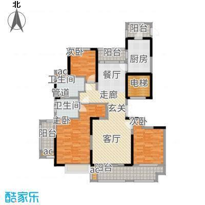华侨城138.00㎡C1户型4室2厅