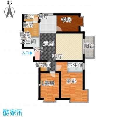悦城户型3室2厅