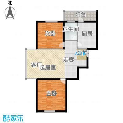天悦国际111.39㎡户型2室1厅