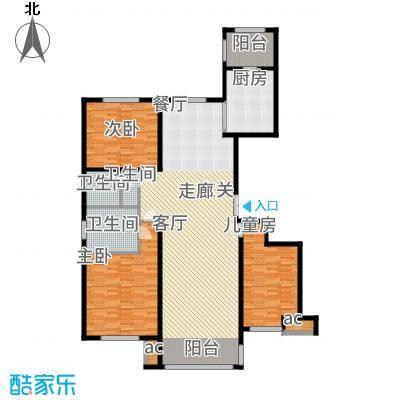 鲁商松江新城176.00㎡户型3室2厅