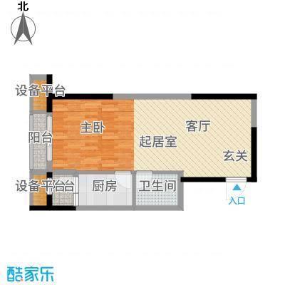万象上东【】A栋I&apos户型1室1厅