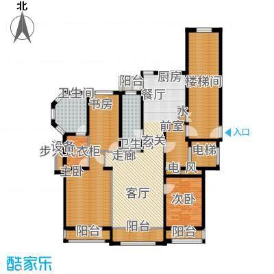 香江铂朗明珠149.73㎡G户型3室2厅