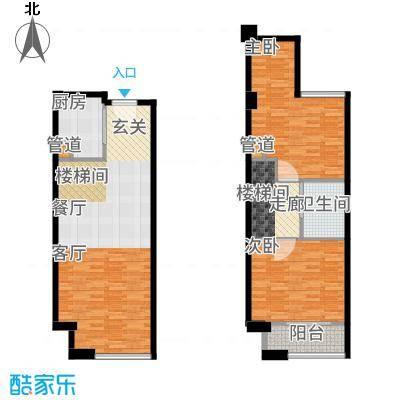 融信海上城49.00㎡1#楼A9户型2室2厅