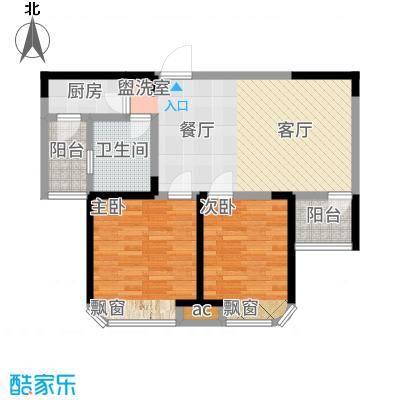 三盛颐景园84.00㎡B户型