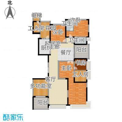 沈阳恒大华府11#清水房户型6室2厅