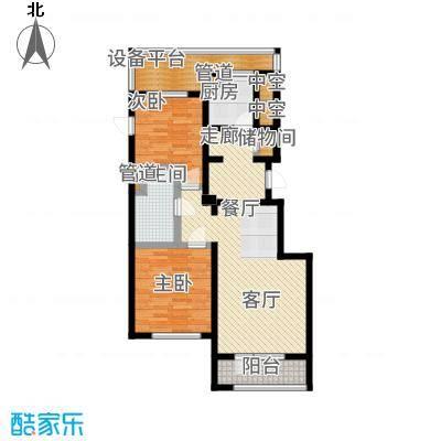绿城沈阳全运村95.00㎡A户型2室2厅
